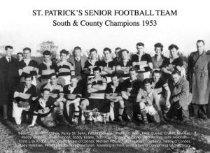 South & county Senior Football Champions 1953
